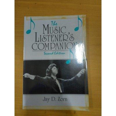 【雷根二手店】《The Music Listener's Companion》 #滿360免運 #九成新 #T1280