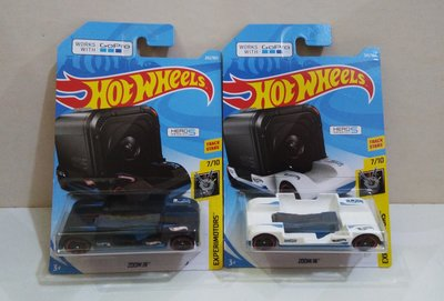 Hotwheels : Zoom In work with Go Pro Hero 5 Session 1 set 2架 (非 tomy matchbox)