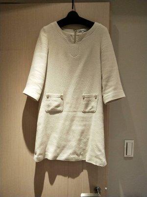 *小瓜呆小鋪* 日本clear impression 白色洋裝