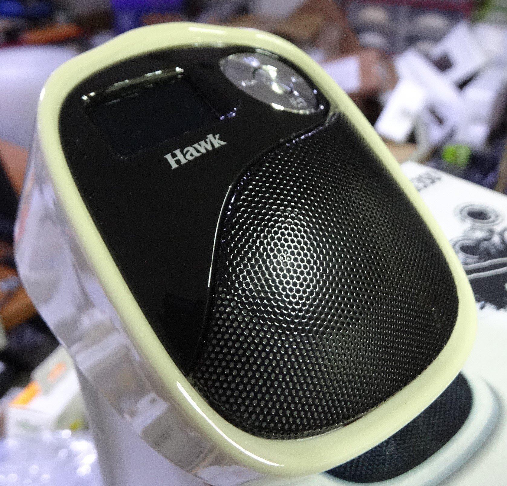 瑕疵品 190元 表面泛黃的◎Hawk Magic P350 魔幻舞者 立體聲 插卡 MP3隨身喇叭◎