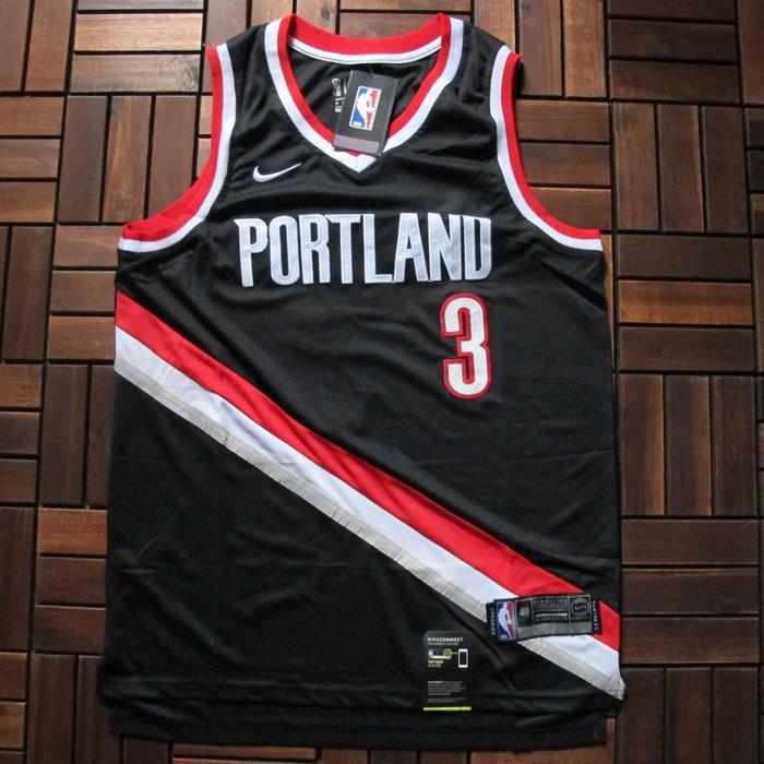 NBA2018全明星賽球衣 波特蘭拓荒者隊 mccollum麥科勒姆 Curry Durant 湯普森 浪花兄弟