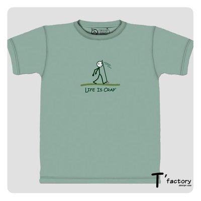 【線上體育】The Mountain 短袖T恤 M號 人生處處是陷阱(Life is Crap) TM-102348.jpg