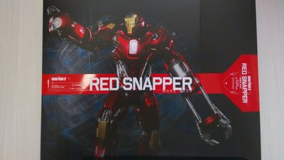 鐵甲奇俠 Hot Toys Hottoys 1/6 Iron Man Red Snapper MK XXXV 35 PPS002 Diecast New!!!