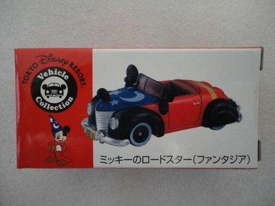 全新未拆 日本 迪士尼樂園 限定 Tomy Tomica 米奇 魔法師 敞篷 跑車