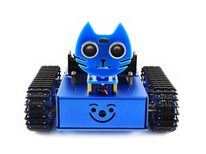 【莓亞科技】BBC micro:bit自走車機器人套件(KitiBot 履帶版)(含稅現貨NT$2380)