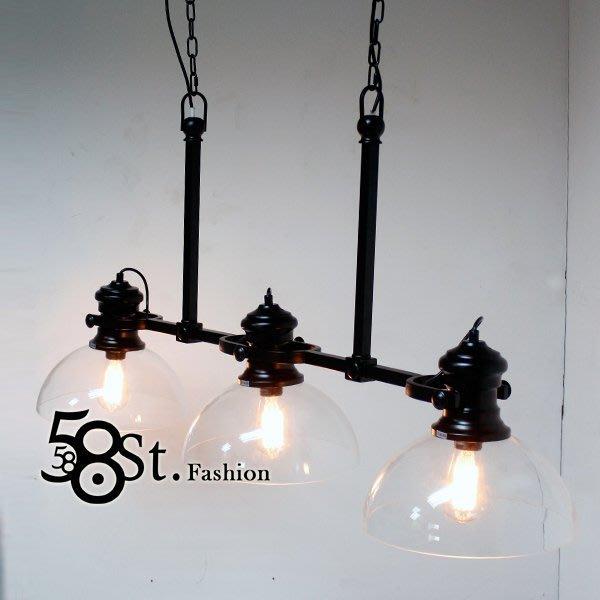 【58街】芬蘭設計新款「風中舞者玻璃罩吊燈」美術燈。複刻版。GH-455
