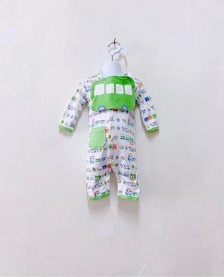 『ETS童裝』6個月-3歲嬰兒連身包屁衣(連圍巾)-全店$240/1,$590/3 ,860/5 , 價錢已包含運費