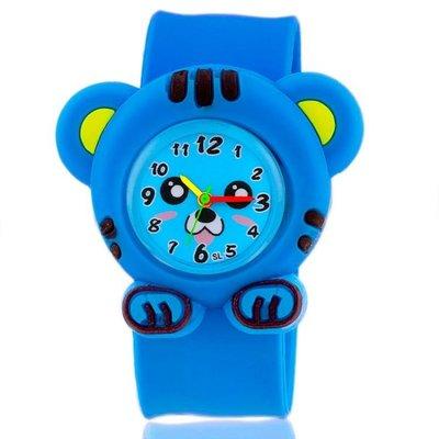 兒童卡通嬰兒啪啪拍拍手錶幼兒男童男孩女童寶寶貓咪可愛玩具錶WY