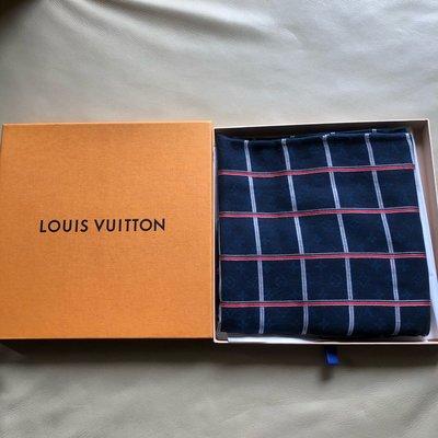 [熊熊之家3] 保證全新 正品 Louis vuitton LV 格紋 大型  圍巾
