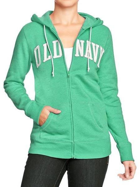 (BJGO) old Navy_女裝_Women's Logo-Zip Hoodies 經典OLD NAVY貼布連帽外套  官網新品現貨