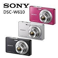 SONY W610 數位相機-2
