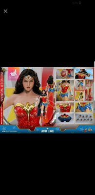全新未開封 HOTTOYS wonder woman comics version 漫畫版 hot toys