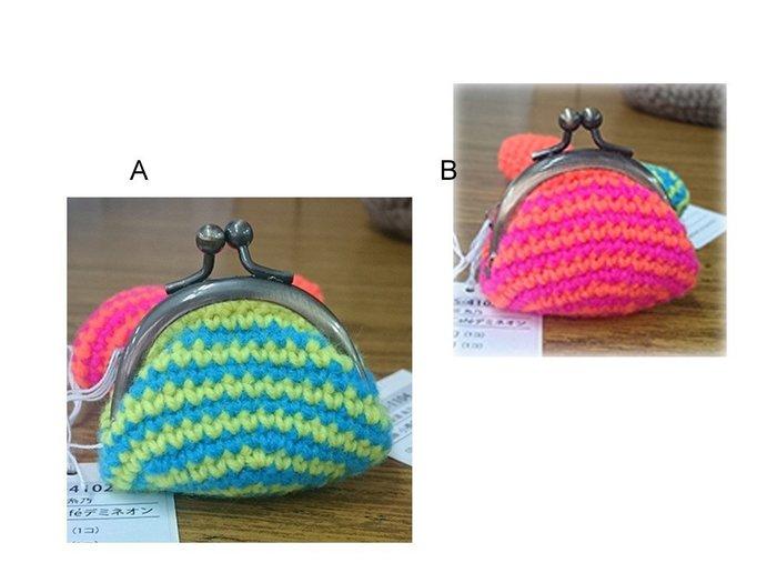 小物編織Demi Neon霓虹小毛線口金包材料 ~小吊飾、手工藝材料、編織工具、進口毛線☆彩暄手工坊☆