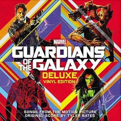 毛毛小舖--黑膠唱片 星際異攻隊 電影原聲帶 豪華版 Guardians of the Galaxy OST 2LP