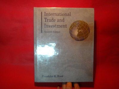 【愛悅二手書坊 19-21】International Trade and Investment