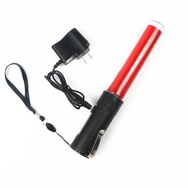 抗候防水 充電型 指揮棒 三段 交管棒(260) 交通指揮棒 螢光棒 手電筒 發光棒【T99000501】塔克玩具