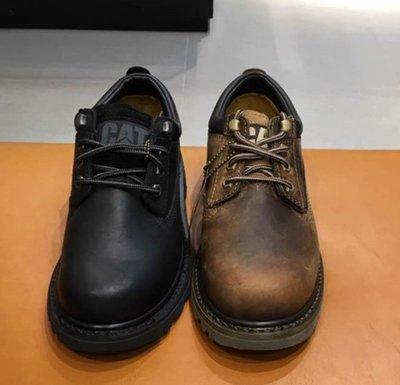 卡特cat經典實心底工裝 百搭 黑色 咖啡 低幫鞋男女鞋 717801 717802