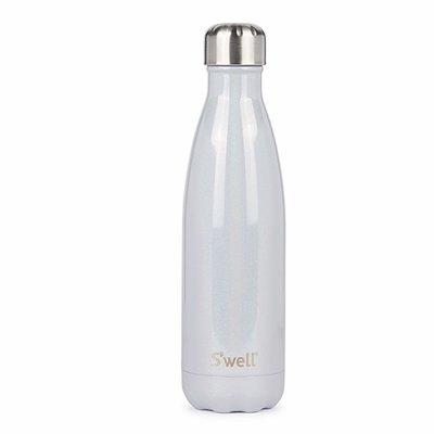 S'well 不鏽鋼保溫瓶 水瓶 水壺 隨手瓶 500ml 氣質珍珠白
