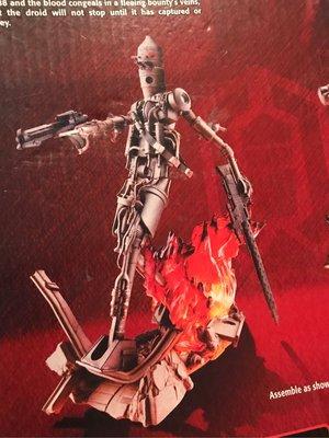 全新UNLEASHED Star Wars IG-88 Figure Hasbro 孩之寶 Starwars 星球大戰 IG88 bounty hunter