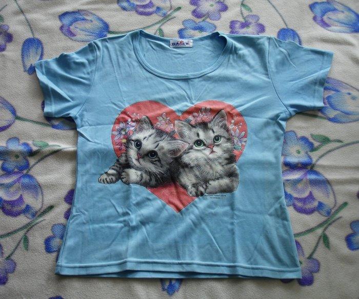 T恤-可愛小貓-加路立Galuly 短T恤--DSC03428