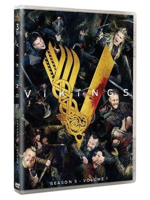 【優品音像】 維京傳奇5一部分 Vikings Season 5 Volume 1 原版美劇3DVD高清 精美盒裝