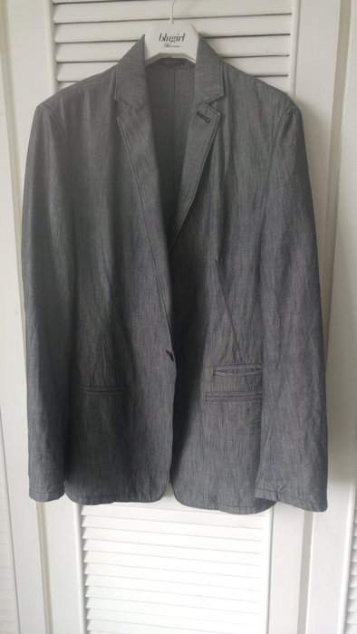 JAMEI CHEN陳季敏 天然棉劍領西裝外套