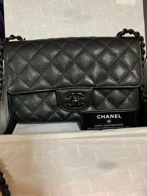 Chanel mini coco20cm so black