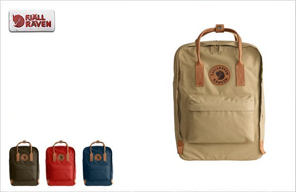 WaShiDa【KN23569】FJALLRAVEN × Kanken Laptop No.2 15吋 皮革 電腦包