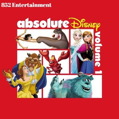 VA ABSOLUTE DISNEY: VOLUME 1 CD 2018 (包郵)