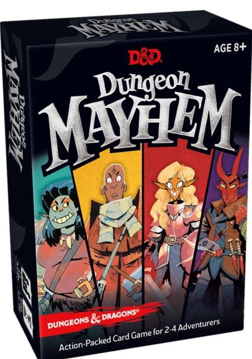 骰子人桌遊-地城無雙 Dungeon Mayhem (附全彩中文說明書+幫助卡) 菜喳.派對遊戲