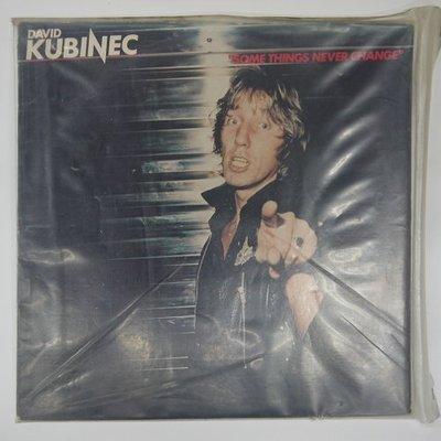 合友唱片 DAVID KUBINEC - Some things never change 黑膠唱片 LP 面交 自取