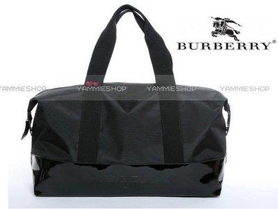 ~YAMMIESHOP~超有誠意的專櫃禮㊝burberry 巴寶莉  超大旅行袋 肩包 高爾夫衣物包(BBJ5)