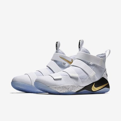 【Cool Shop】Nike LeBron Soldier 11 SFG EP 897645-101 白黑金 士兵