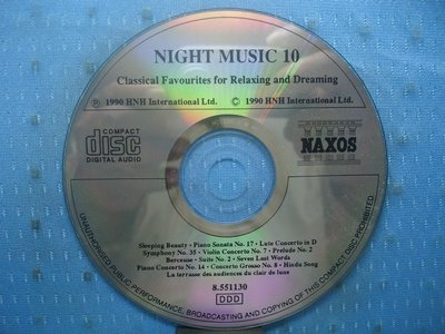 [無殼光碟]T Night Music 10: Classical Favourites for Relaxing