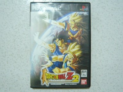 【~嘟嘟電玩屋~】PS2 日版光碟 ~ 七龍珠 Z 2