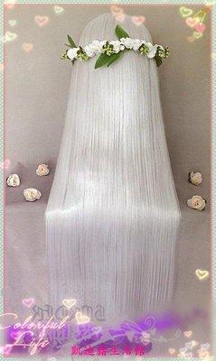 【凱迪豬生活館】銀白色80CM長直COS假髮 K安娜 水銀燈 巴衛KTZ-200929