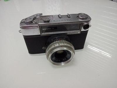 699低價起標!!yashica minister-D 古董機械相機