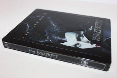 毛毛小舖--現貨 藍光BD 黑魔女 沉睡魔咒 限量鐵盒版 Maleficent 安潔莉娜裘莉