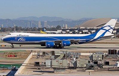 **飛行夢想家**GeminiJets 1:200 空橋貨運航空 ABC Boeing 747-8F VQ-BRJ