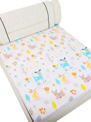 日和生活館 寶寶尿布墊嬰兒隔尿墊超大號防水可洗透氣床笠寶寶老大人大號兒童棉床墊床單S686