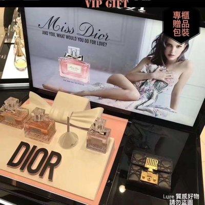 【香港專櫃贈品】迪奧會員12萬積分兌換菱格紋長款錢包,