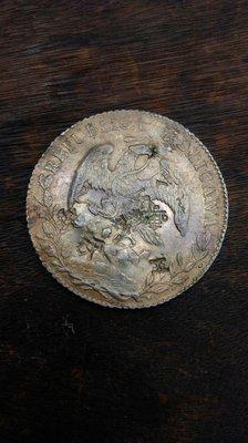 大草原典藏,墨西哥古銀幣,缺貨