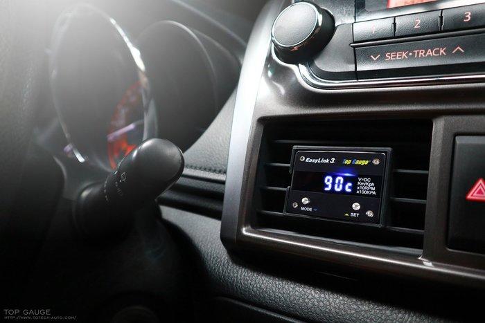 【精宇科技】TOYOTA YARIS VIOS 冷氣出風口多功能儀錶 水溫 轉速 電壓 OBD2 OBDII