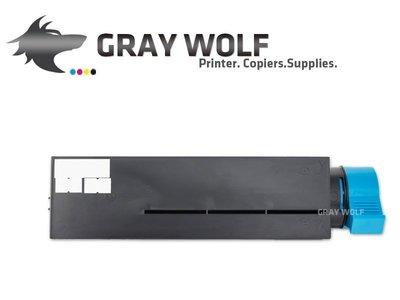【灰太狼】OKI 44574903 相容環保碳粉匣 適用B431DN/B411