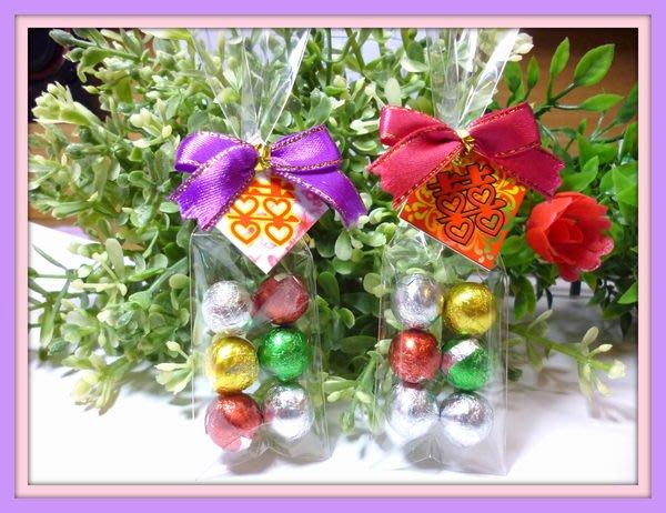 結婚禮小物~心型巧克力&蝴蝶結&包裝/情人節/聖誕節/二次進場/慶生日/畢業謝師/團康/便宜贈品/喜糖袋