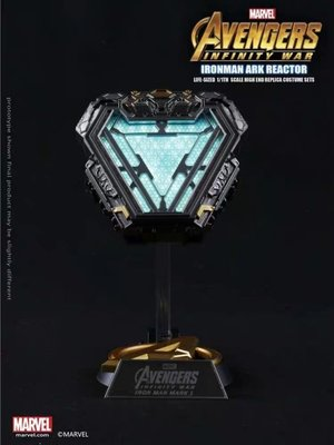 (預訂) Iron Man Mark 50 1:1 Arc Reactor 改良版