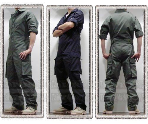 《甲補庫》 __黑 草綠色 特勤戰技 連身服_腿側大口袋+腋下透氣網