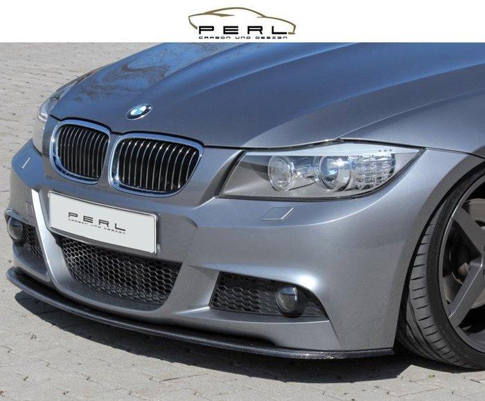 【樂駒】Perl Carbon Design BMW E90 E91 M-Paket 碳纖維 前下擾流 前下巴 改裝
