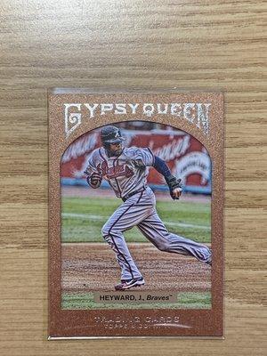 2011 Topps Gypsy Queen ~ J. Hayward 限量 999 張