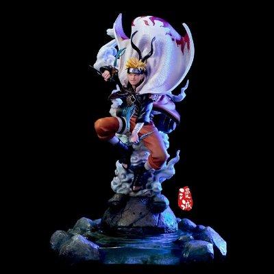 優質版 火影忍者 GK 仙人鳴人 三忍共鳴 國產手辦模型雕像擺件